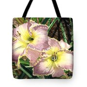 Lillies Clothed In Glory Tote Bag