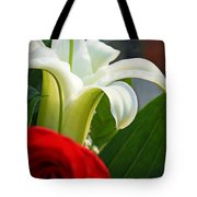 Lilly And Rose Tote Bag