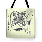 Lilly Artistic Doodling Drawing Tote Bag