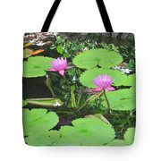 Lilly Pad In Hawaii Tote Bag