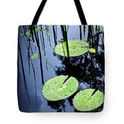 Lilly Pad Pond Tote Bag