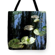 Lilly Pad Reflection Tote Bag