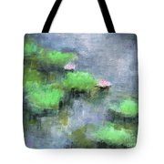 Water Lilly's  Tote Bag