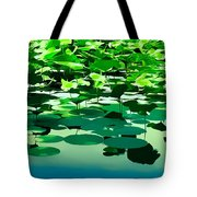 Lilly Pads Of Reelfoot Lake Tote Bag