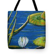 Lilly Pads Tote Bag