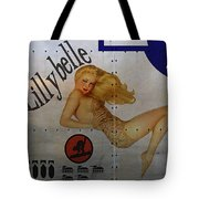 Lillybelle Nose Art Tote Bag by Cinema Photography