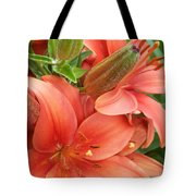 Lillys And Buds 3 Tote Bag