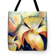 Lillys With Birds Tote Bag