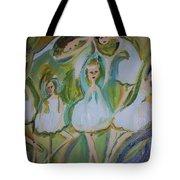 Lily Allegro Ballet Tote Bag