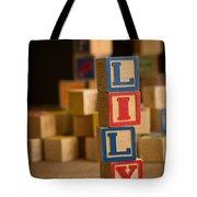Lily - Alphabet Blocks Tote Bag