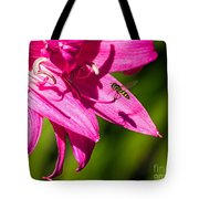 Lily And Fly Tote Bag