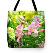 Lily And Friends Tote Bag