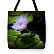 Lily And Shadow Tote Bag