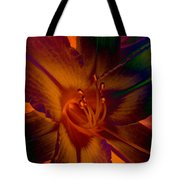 Lily Colors Tote Bag