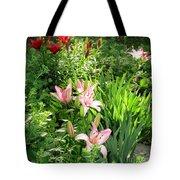 Lily Garden Tote Bag