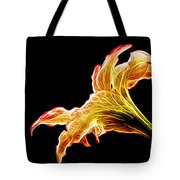 Lily Glow Tote Bag