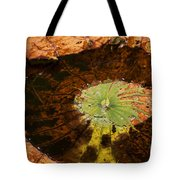 Lily Pad Color Tote Bag