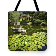 Lily Pad Garden - Japanese Garden At The Huntington Library. Tote Bag