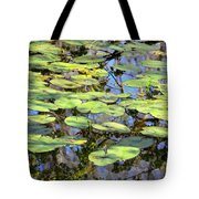 Lily Pads In The Swamp Tote Bag
