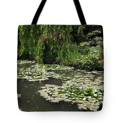 Lily Pads Monets Garden Tote Bag