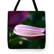 Lily Pearls Tote Bag