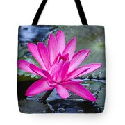 Lily Petals Tote Bag