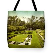Lily Pond Garden Tote Bag