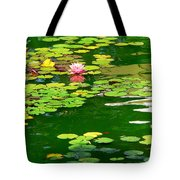 Lily Pond  Tote Bag by Jeff Lowe