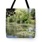 Lily Pond - Monets Garden - France Tote Bag