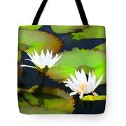 Lily Pond Bristol Rhode Island Tote Bag