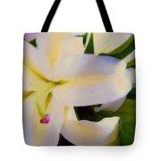 Lily Portrait Tote Bag