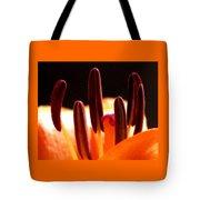 Lily Stamens Tote Bag