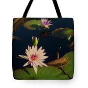 Lily White Monet Tote Bag