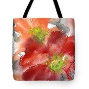 Lily Wisps II Tote Bag