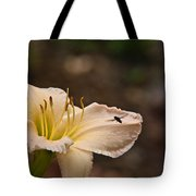 Lily With Fly Tote Bag