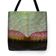 Lilypad Abstract Tote Bag