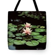 Lilypad And Lotus Tote Bag