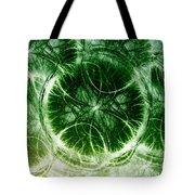 Lilypad - Fractal Tote Bag