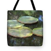 Lilypad Quads Tote Bag