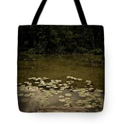 Lilypads At The Dock Tote Bag