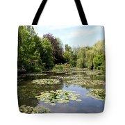 Lilypond Monets Garden Tote Bag