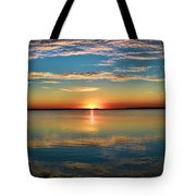 Lima Ohio Sunset Tote Bag