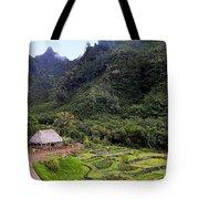 Limahuli Taro Fields In Kauai Tote Bag