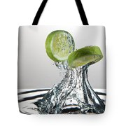 Lime Freshsplash Tote Bag