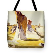 Lime Rock Quarry II Tote Bag by Edward Hopper