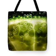 A Slice In Lime Tote Bag