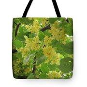 Lime Trees In Bloom  Tote Bag