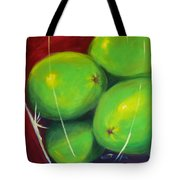 Limes In A Vase Tote Bag