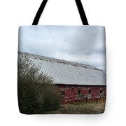 Limestone County Red Barn Tote Bag