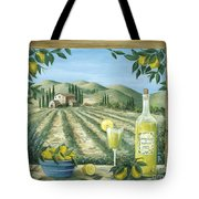 Limoncello Tote Bag by Marilyn Dunlap